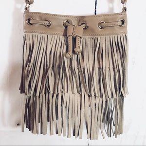 DEUX LUX | Boho Fringe Vegan Leather Crossbody Bag